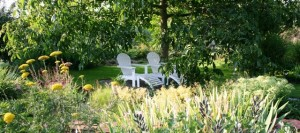 relax under the walnut tree - hotel au relais de l'Ill - photo booking page